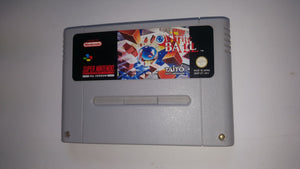 * Super Nintendo Game * ON THE BALL * SNES *