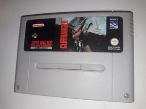 * Super Nintendo Game * CLIFFHANGER * SNES