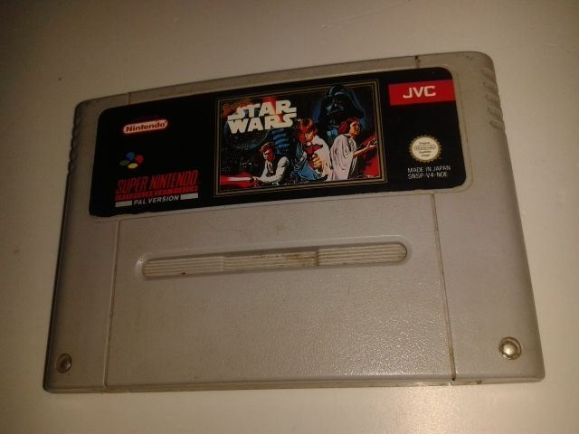 * Super Nintendo Game * STAR WARS * SNES