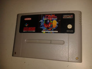 * Super Nintendo Game * ZOOL - NINJA OF THE NTH DIMENSION * SNES