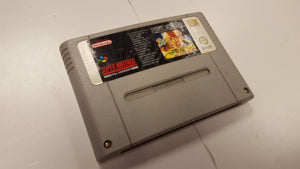 * Super Nintendo Game * METAL MARINES * SNES