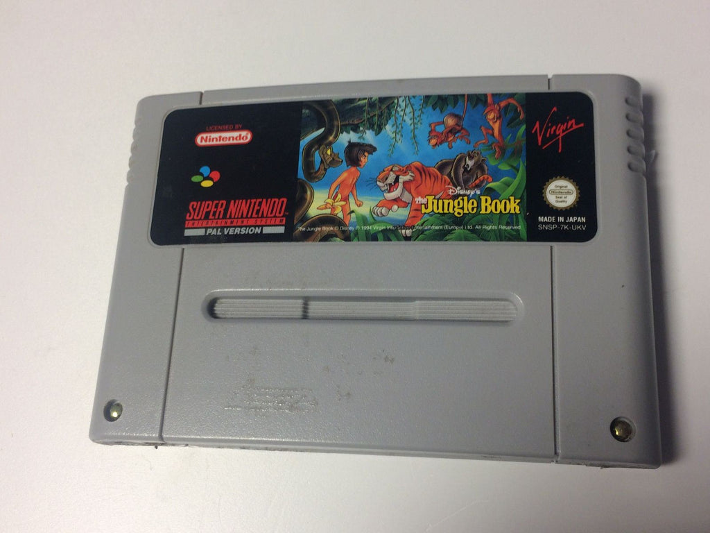 * Super Nintendo Game * DISNEY'S THE JUNGLE BOOK * SNES