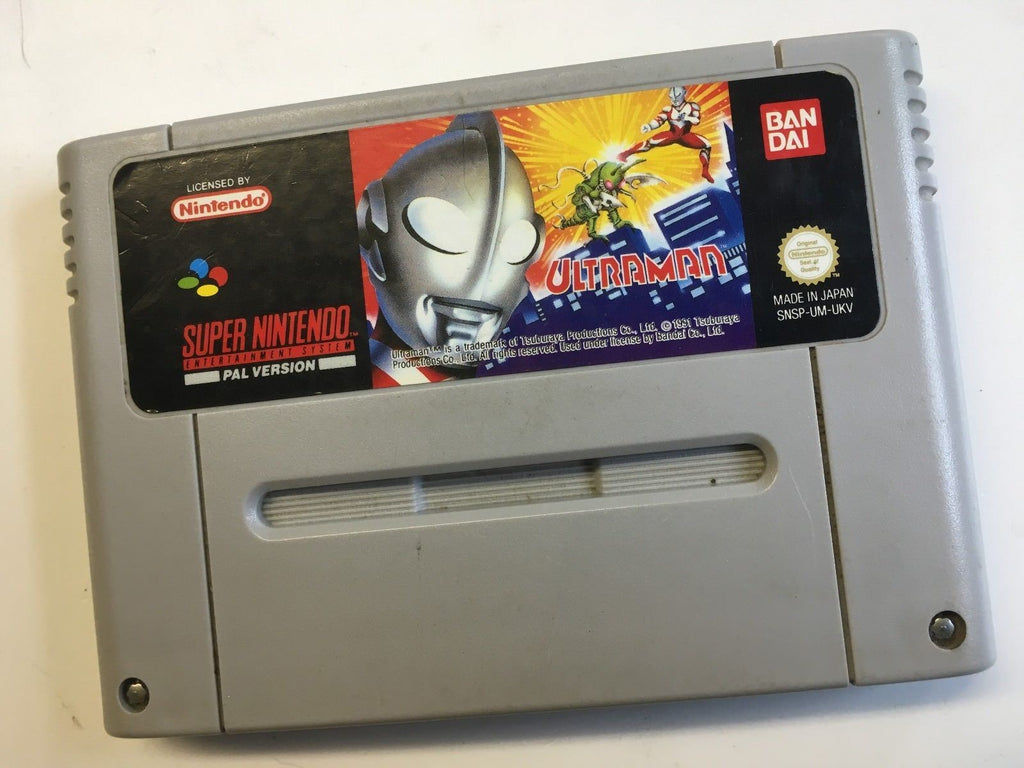 * Super Nintendo Game * ULTRAMAN * SNES