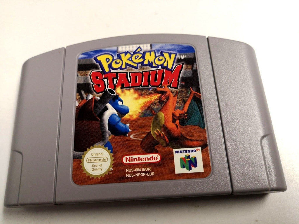 * Nintendo 64 Game * POKEMON STADIUM * N64