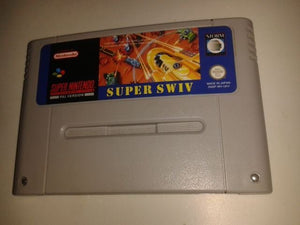 * Super Nintendo Game * SUPER SWIV * SNES