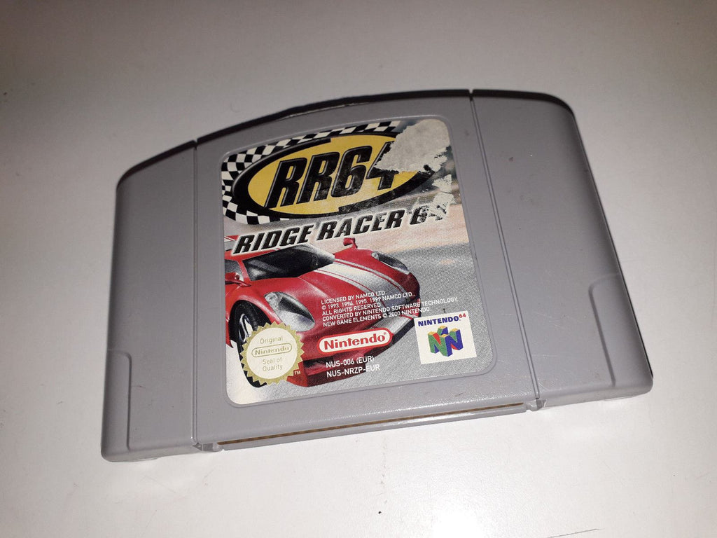 * Nintendo 64 Game * RIDGE RACER 64 * N64