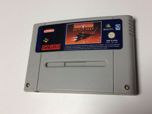 * Super Nintendo Game * TURN AND BURN NO FLY ZONE * SNES