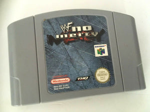 * Nintendo 64 Game * WWF NO MERCY * N64