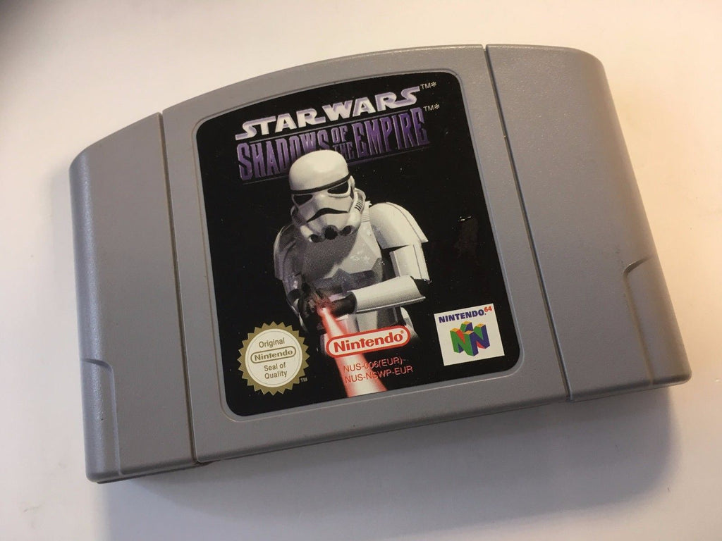 * Nintendo 64 Game * STAR WARS - SHADOWS OF THE EMPIRE * N64