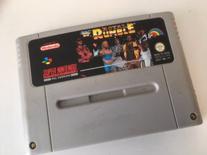 * Super Nintendo Game * WWF ROYAL RUMBLE Wrestling * SNES