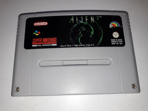 * Super Nintendo Game * ALIEN 3 * SNES *