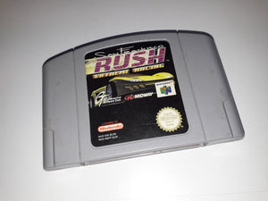 * Nintendo 64 Game * SAN FRANCISCO RUSH EXTREME RACING * N64