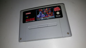 * Super Nintendo Game * CLAY FIGHTERS * SNES *