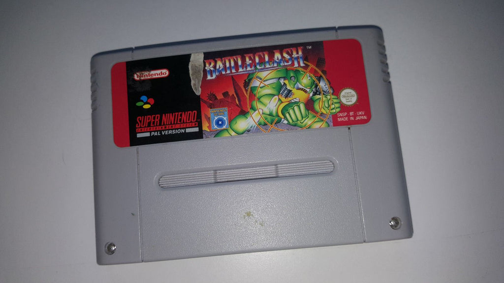 * Super Nintendo Game * BATTLECLASH * SNES