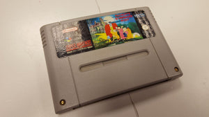 * Super Nintendo Game * PUGSLEY'S SCAVENGER HUNT * SNES
