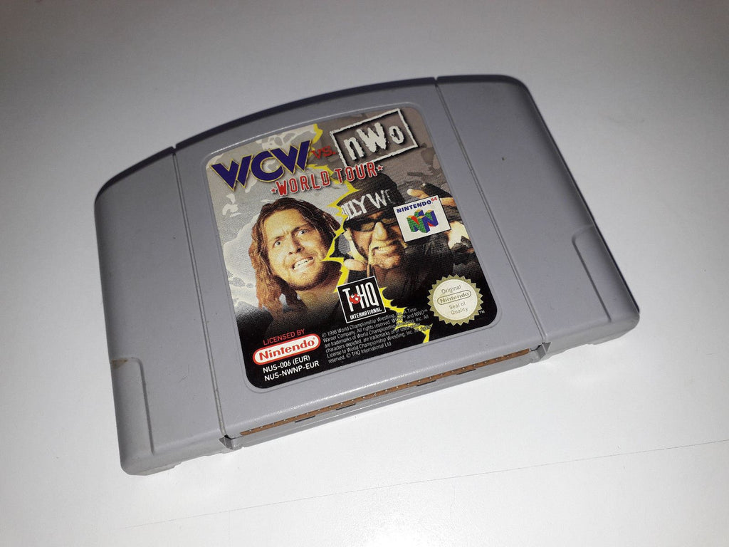 WCW VS NWO WORLD TOUR - Cart Only