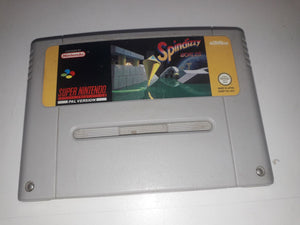 * Super Nintendo Game * SPINDIZZY WORLDS * SNES