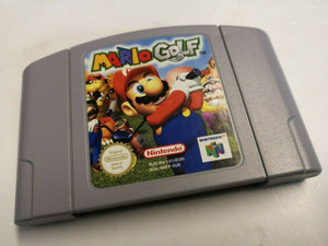 * Nintendo 64 Game * MARIO GOLF * N64
