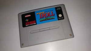 * Super Nintendo Game * SUPER TROLL ISLANDS * SNES *