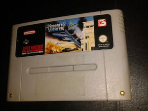 * Super Nintendo Game * DESERT FIGHTER * SNES G