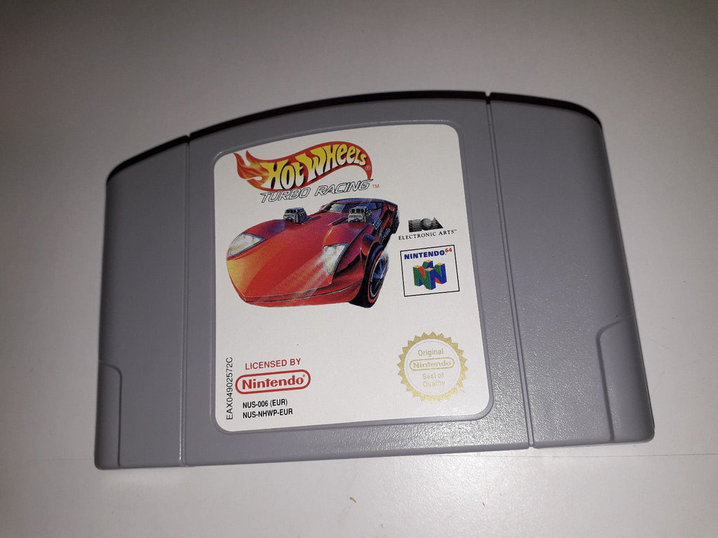* Nintendo 64 Game * HOT WHEELS TURBO RACING * N64 G