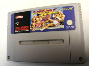* Super Nintendo Game * STREET FIGHTER II 2 TURBO * SNES *
