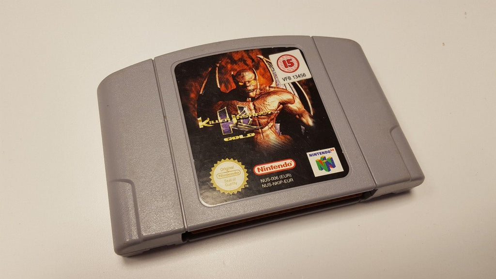 * Nintendo 64 Game * KILLER INSTINCT GOLD * N64