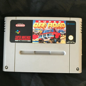 * Super Nintendo Game * SUPER OFF ROAD * SNES