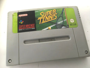 * Super Nintendo Game * SUPER TENNIS * SNES *