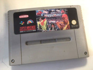 * Super Nintendo Game * SUPER WRESTLEMANIA * SNES