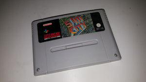 * Super Nintendo Game * SIM CITY * SNES