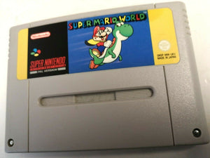* Super Nintendo Game * SUPER MARIO WORLD * SNES *