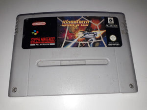 * Super Nintendo Game * WARPSPEED * SNES *