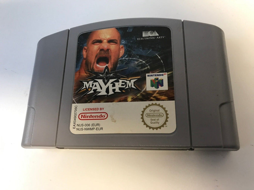 * Nintendo 64 Game * WCW MAYHEM * N64
