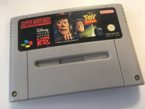 * Super Nintendo Game * TOY STORY * SNES