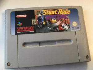 * Super Nintendo Game * STUNT RACE FX * SNES
