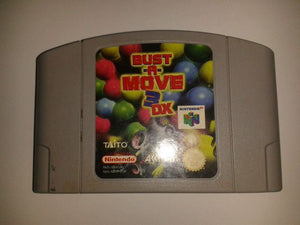 * Nintendo 64 Game * BUST A MOVE 3 DX * N64