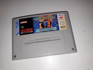 * Super Nintendo Game * SOCCER KID * SNES