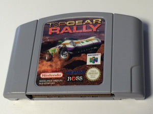 * Nintendo 64 Game * TOP GEAR RALLY * N64