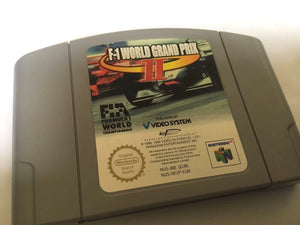 * Nintendo 64 Game * F1 WORLD GRAND PRIX II 2 Formula One * N64
