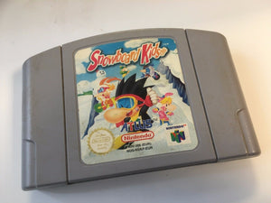 * Nintendo 64 Game * SNOWBOARD KIDS * N64