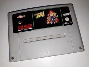 * Super Nintendo Game * JAMES BOND JR * SNES *