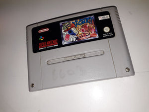 * Super Nintendo Game * THE REN AND STIMPY SHOW * SNES *