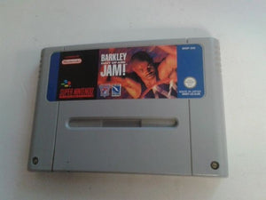 * Super Nintendo Game * BARKLEY SHUT UP AND JAM * SNES