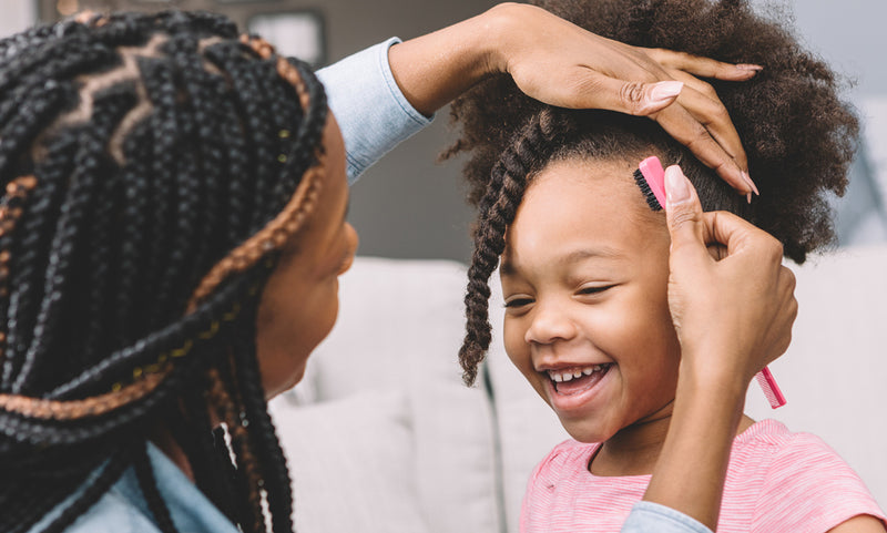 10 Tips every parent should follow when caring for their child's natural hair!
