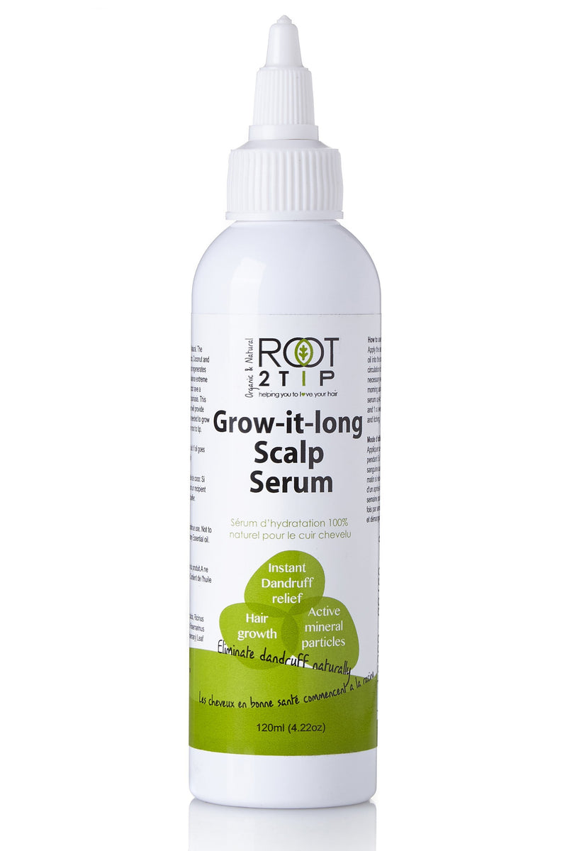 Grow it Long Scalp Serum- Your Dry Scalp Solution