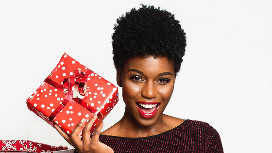 6 Christmas Party Hairstyles for Afro/Curly hair