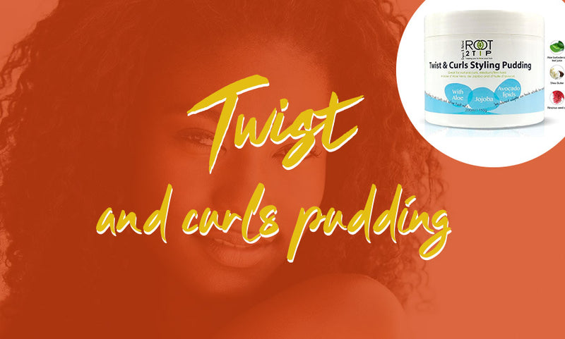 TWIST & CURL PUDDING
