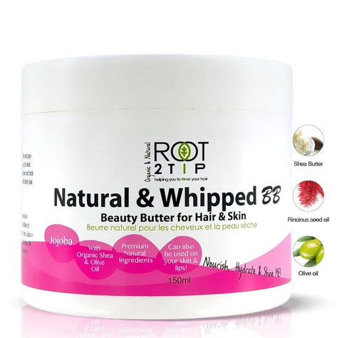 Natural and Whipped Hair Butter