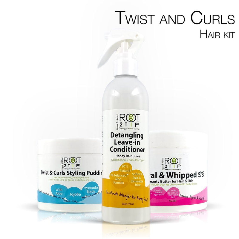 Curls, Twist and Curls Hair kit